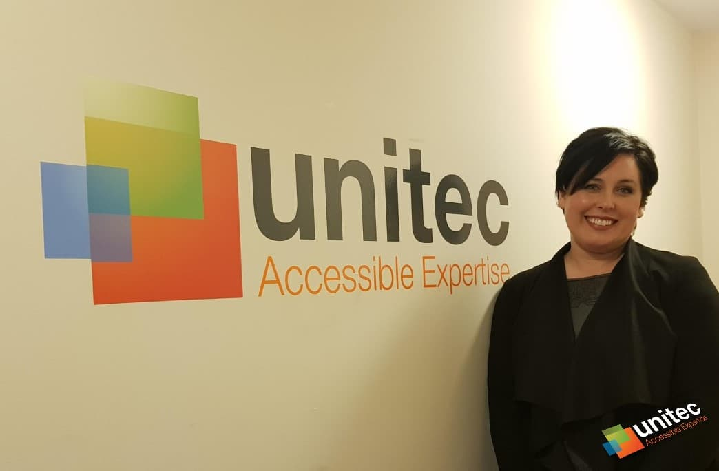 Unitec sales team member