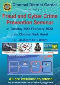 Fraud and Cyber Crime Prevention Poster