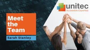 Meet the Team at Unitec - Sarah Stanley