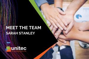 Meet Unitec's Sarah Stanley, Project Manager