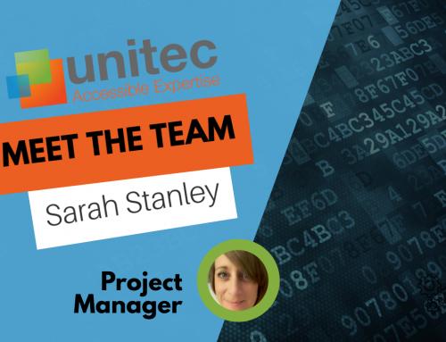 Meet the Team – Sarah Stanley