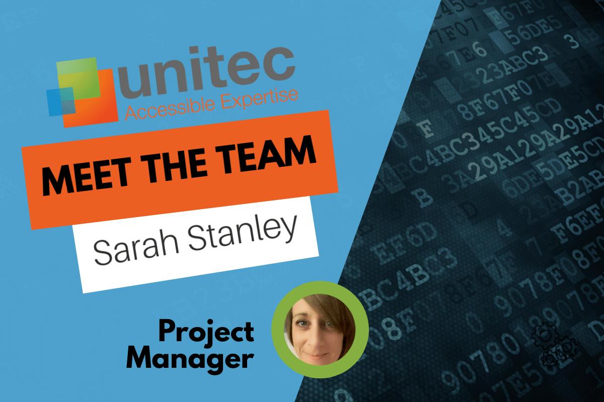 Meet the Team - Sarah Stanley