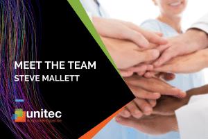 Meet Steve Mallett, Unitec Service Coordinator