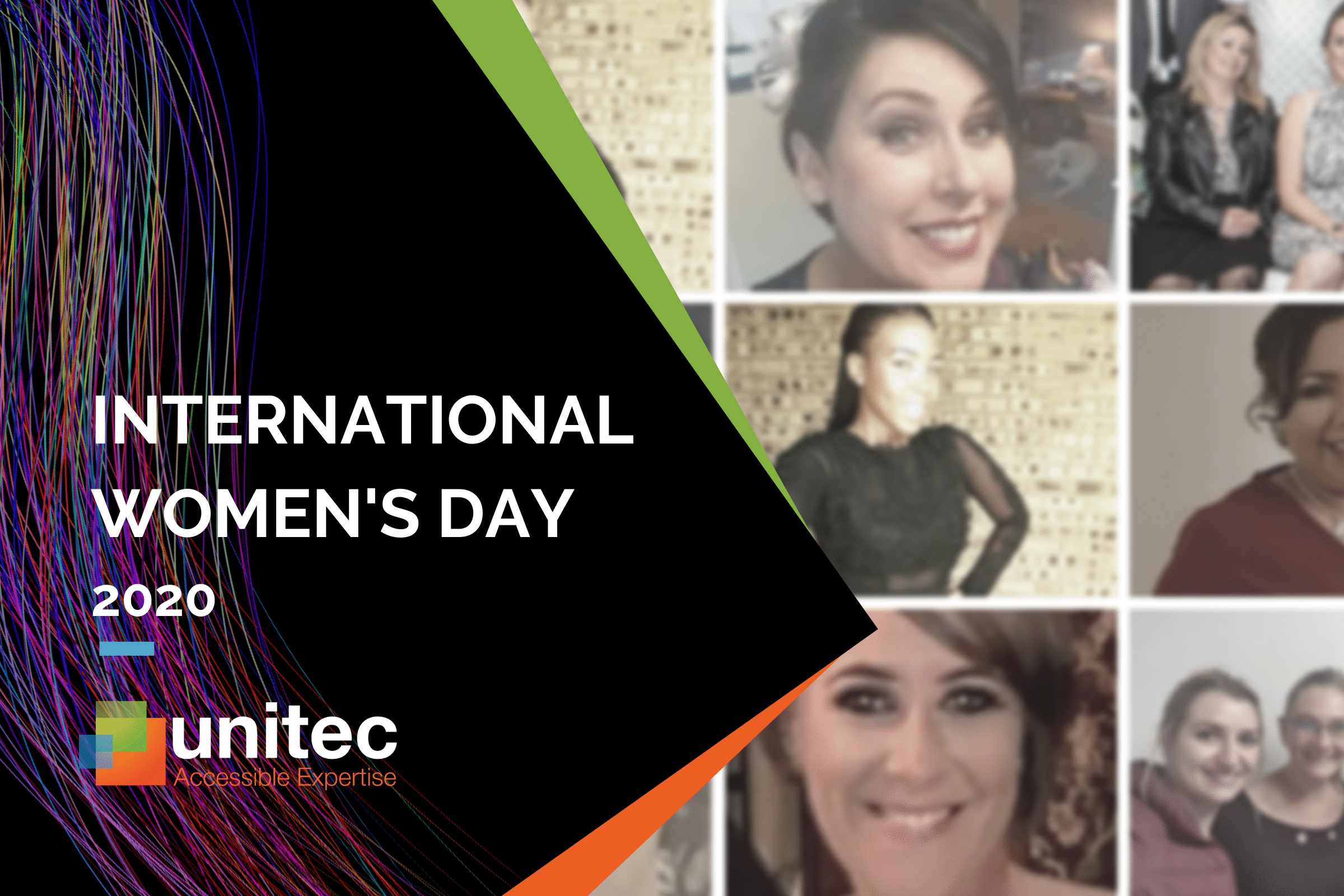 For International Women's Day 2020, Unitec thanks all the amazing women who are part of our team