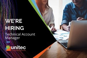 Blog Header. Unitec are hiring a Technical Account Manager